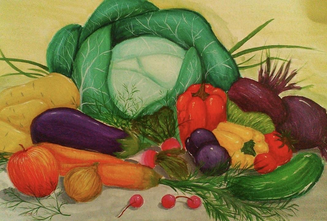 Картинки про овощи большие